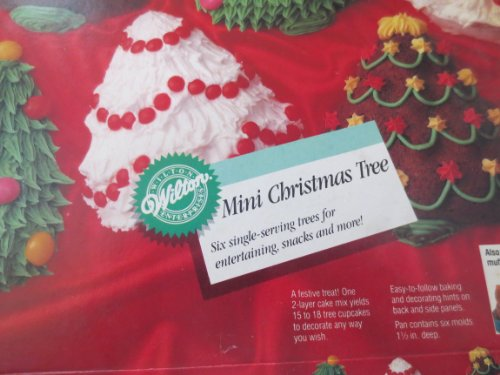 Wilton Mini Christmas Tree Pan