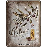 ブリキ看板 オリーブ Olive Italiane/TIN SIGN アメリカン雑貨 インテリア