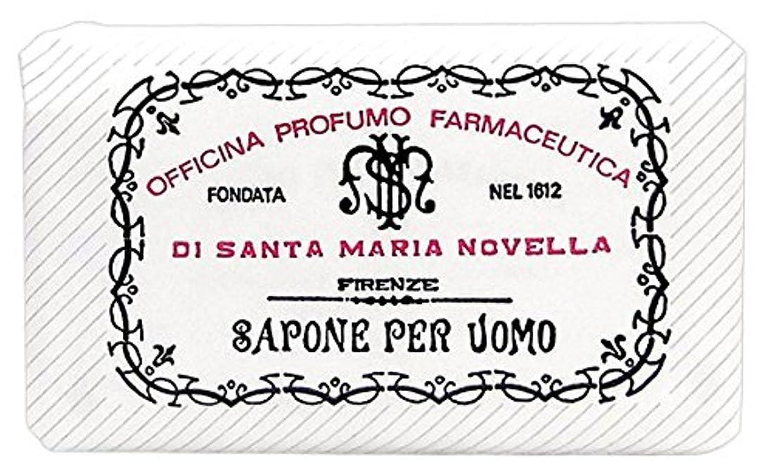 解釈的黒板頭痛サンタマリアノヴェッラ メンズソープ サンダーロ 130g [並行輸入品]