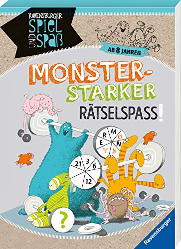 Monsterstarker Rätsel-Spaß ab 8 Jahren (Ravensburger Spiel und Spaß)