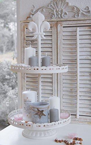 Etagere BELLA im Landhaus Shabby Chic Stil, traumhafte antique Etagere
