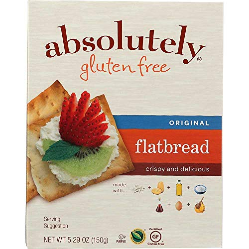 Absolutely Gluten Free Original Flatbread, 5.29 Ounce -- 12 per case.
