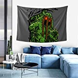 BLACK SP Swamp Man Thing Tapestry Wall Hanging Tapestries for Living Room Bedroom Dormitory Apartment Wall Background Gift Decoration Fashion Home Decoration Wall Blanket 60x40 Inch