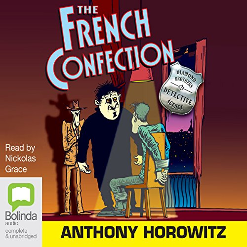 The French Confection     A Diamond Brothers Story              De :                                                                                                                                 Anthony Horowitz                               Lu par :                                                                                                                                 Nickolas Grace                      Durée : 1 h et 33 min     Pas de notations     Global 0,0