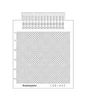 サンハヤト 端子付ユニバーサル基板 ICB-94T