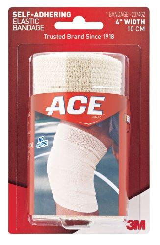 ACE vendaje elástico autoadherente, 4 pulgadas por ACE