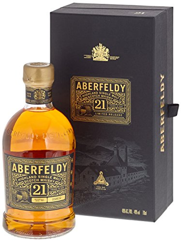 Aberfeldy 21 Jahre Highland Single Malt Whisky (1 x 0,7 l)