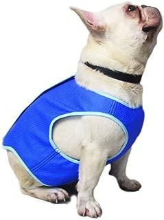 OMEM Dog Summer Cooling Vest Harness Jacket Pet Cooling Coat Dog Mesh Vest for Small and Medium Dogs
