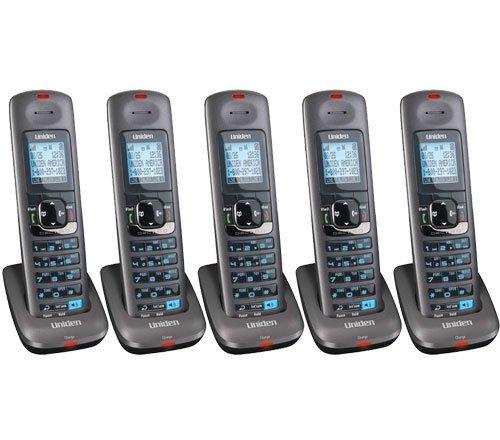 Uniden DCX400 DECT 6.0 Cordless Accessory Phone Handset (5 Handset)