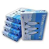 Caja 5x Paquete de 500 Hojas Din A4 80 gr. Papel Blanco. Folios Din A4 multiusos. Valido Impresoras tinta, laser, fotocopias, color injet, fax. (5)