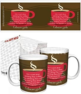 Gilmore Girls Can't Stop Drinking Coffee Comedy Drama TV Television Show Ceramic Gift Coffee (Tea, Cocoa) Mug, 11 Ounce