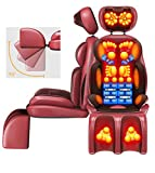 siège de massage Shiatsu Fauteuil de massage shiatsu, dos, taille, épaule, jambe, masseur, vibration, pour bureau à domicile