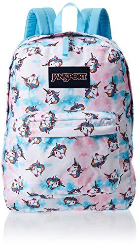 JanSport Superbreak Backpack, Unicorn Clouds