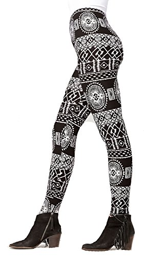 Buttery-Soft Printed Leggings for W…