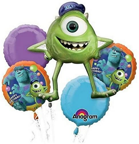 exclusivo Monsters University Birthday Party Balloon Bouquet 5pc 5pc 5pc by Pixar  n ° 1 en línea