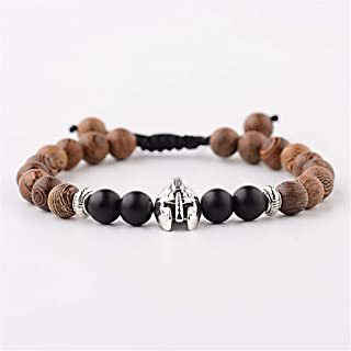 onyx bead charger bracelet