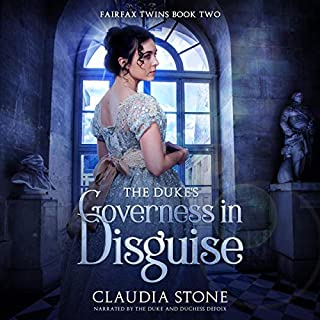 The Duke's Governess in Disguise cover art