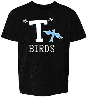 تی شرت T Birds Tbird Men Gang Logo Retro 50s 60s Cosplay Toddler Kids Girl Boy T-Shirt