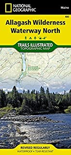 By National Geographic Maps - Tra Allagash Wilderness Waterway North (Ti - Other Rec. Areas) (2011)