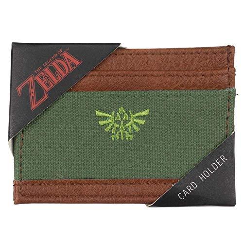 Zelda Video Game Symbol Canvas Card Holder Accessory