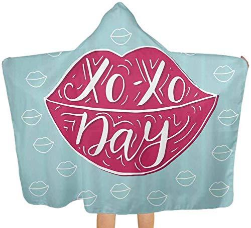 Toalla de baño grande con medusas de ángel, pescado, suave algodón, con capucha, para bebés, niños pequeños, 130 x 150 cm