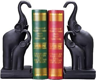 ينتهي كتاب الدفاتر المزخرفة لمكتب الراتنج الفيل النحت غلاف الكتاب ديكور سطح الطاولة الديكور كتاب نهاية