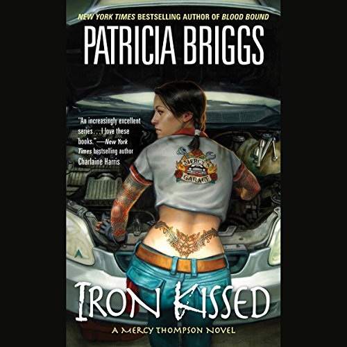 Iron Kissed audiobook cover art