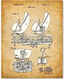 Disney Haunted Mansion Doombuggy Omnimover - 11x14 Unframed Patent Print - Makes a Great Gift Under $15 for Disney Fans