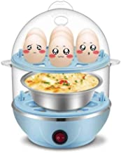 DIAOD Multifunctional Double Layers Electric Smart Egg Boiler Cooker Household Kitchen Cooking Tool Utensil Egg Steamer Po...