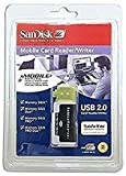 SanDisk SDDR-107-A10M MobileMate MS+ USB 2.0 Mobile Card Reader/Writer Support 1GB 2GB 4GB 8GB 16GB # Memory Stick # Memory Stick Duo # Memory Stick PRO # Memory Stick PRO Duo
