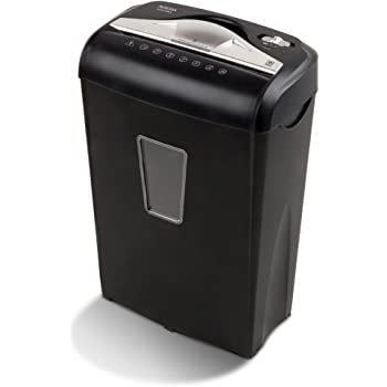 Aurora AU870MA High-Security 8-Sheet Micro-Cut Paper Credit Card Shredder Black