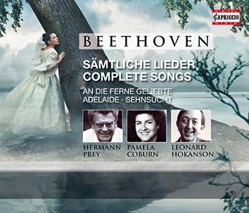 Beethoven: Samtliche Lieder/Complete Songs