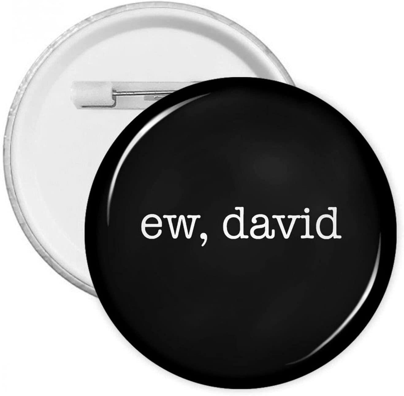 Ew David 1.2/1.8/2.3 Inch Round Pins Brooches Button Medal Tinplate Brooches Emblem Adult Children Pin Badges Decor for Backpacks Costume