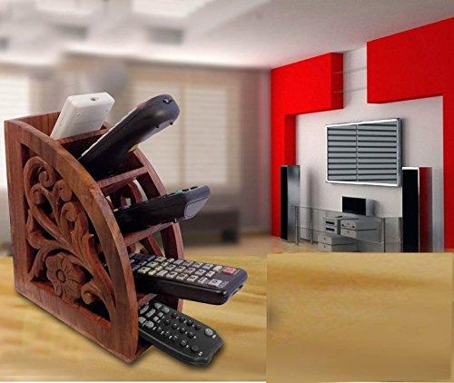IndiaBigShop Basamento di Legno a Distanza, A/C TV Supporto remoto Stand, 7.5x3 pollic