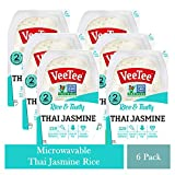 Gently steamed Thai jasmine rice that is sealed to preserve freshness. Convenient, microwavable tray is ready to serve in 2 minutes. Veetee rice is gluten free with no artificial colors, flavors or preservatives. Versatile microwavable rice perfect f...
