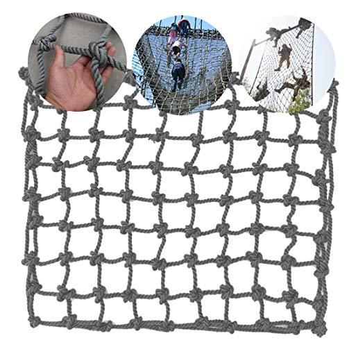 HUANPIN Climbing Frame Net for Kids Adults Truck Trailer Rope Ladder Protection Net for Kids | Balcony Banister Stair Dia 14 mm 20 cm Children Safety Net,1 * 3m(3.3 * 10ft)