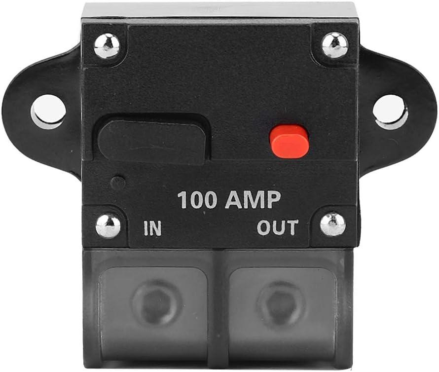Aramox Car Circuit Breaker 12-42 VDC Heavy Duty Car Auto-reset ...