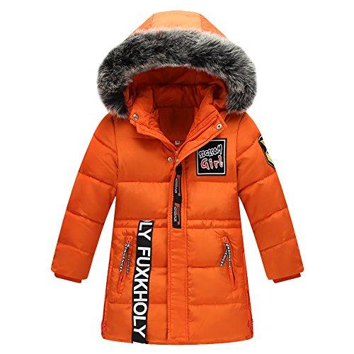 LSERVER-Junge Daunenjacke Kinder Winterjacke mit Kaputze Daunenmantel Junge Baby Verdickte Winterjacke Frühling Herbst Jacke