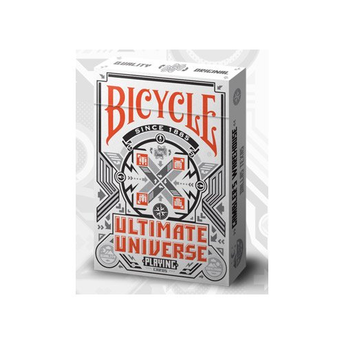 The U.S.P.C.C. - Baraja bicycle ultimate universe blanco