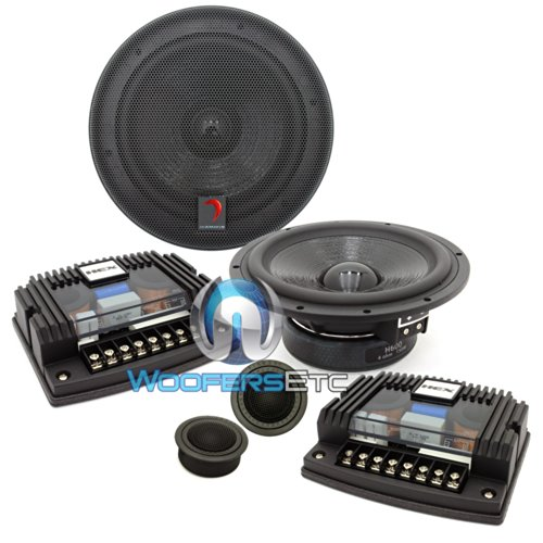 For Sale! H600S - Diamond Audio 6.5 HEX Series Component System w/Silk (2014 Model)
