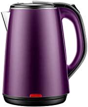 Stainless Steel Electric Kettle,Electric Kettle Automatic 24 Hours Insulation 1500W Insulation Power Off Household Large C...
