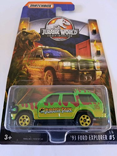 2018 Matchbox Jurassic World Legacy Collection Limited Edition - '93 Ford Explorer