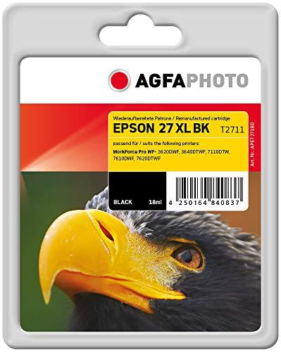 AgfaPhoto APET271BD Remanufactured Tintenpatronen Pack of 1