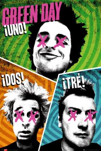 GB eye, Green Day, Trio, Maxi Poster, 61x91.5cm