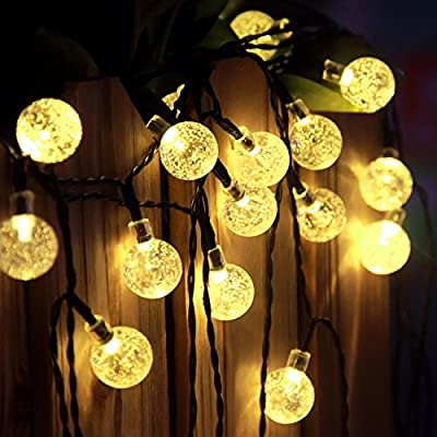Outdoor Solar String Lights 29ft 50 Led Butterfly Shaped Lights, Solar Powered Fairy String Lights for Indoor, Home, Patio, Garden, Path, Party, Wedding
