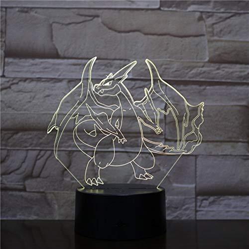Pokemon Go Ivysaur Figur LED Nachtlicht Kinder Acryl Tischlampe Indoor Ping Geburtstagsgeschenk Nachtlicht Tischlampe USB Ivysaur