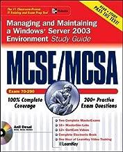 MCSE/MCSA Windows Server 2003 Environment Study Guide (Exam 70-290)