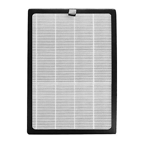 HIMOX Luftreiniger Ersatzfilter Hocheffizienter H13 HEPA Medical Grade Filter und Aktivkohlefilter Set für Luftreiniger Allergie mit Smart Luftqualität Sensor und Ionisator HIMOX-H04