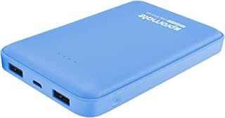 Promate Power Bank 10000mAh with Dual USB Port Blue