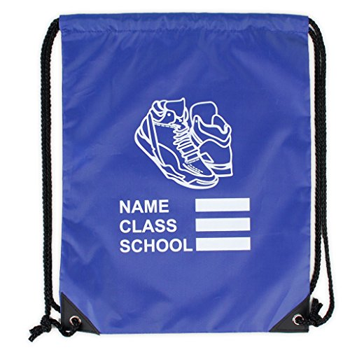 New Only Uniform Shoe Bag Drawstring PE Gym Kit Kids School Carry Sack